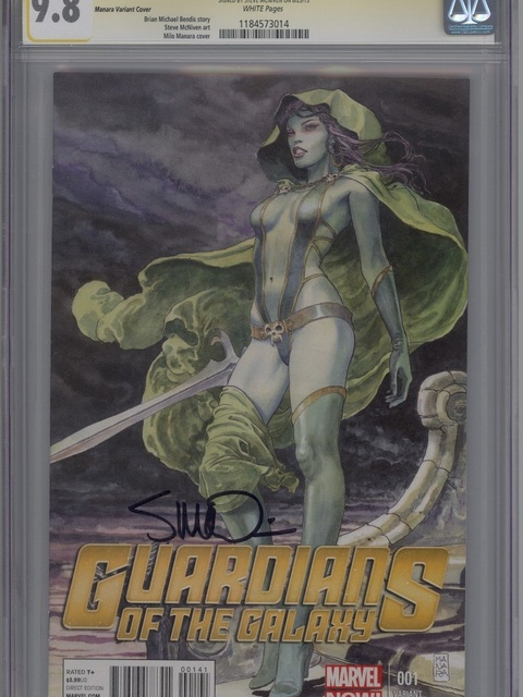Guardians of the Galaxy (2013 series) #1 [Milo Manara Variant]