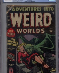 Adventures Into Weird Worlds (1952 series) #22