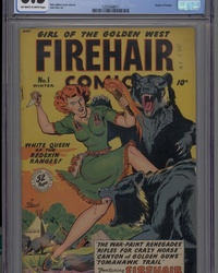 Firehair Comics (1948 series) #1