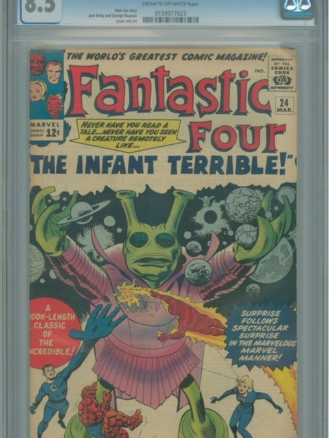 Fantastic Four (1961 series) #24 [Regular Edition]